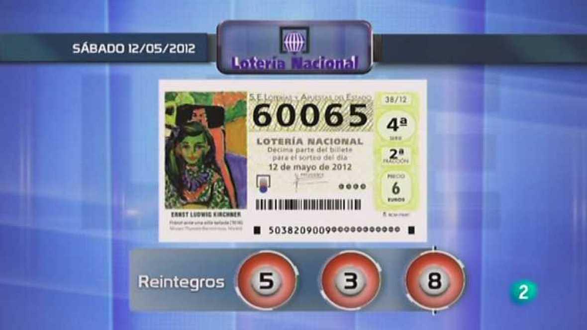 Lotería diaria - 12/05/12 - Ver ahora