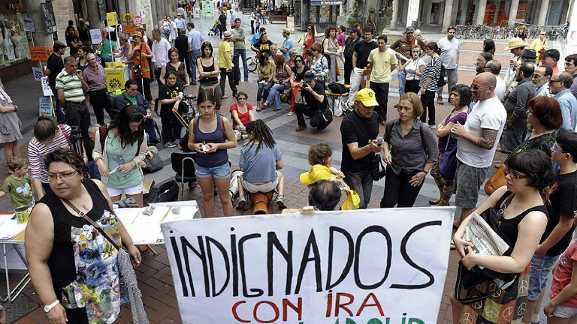 Concentraciones en unas 80 ciudades españolas para recordar el 15M