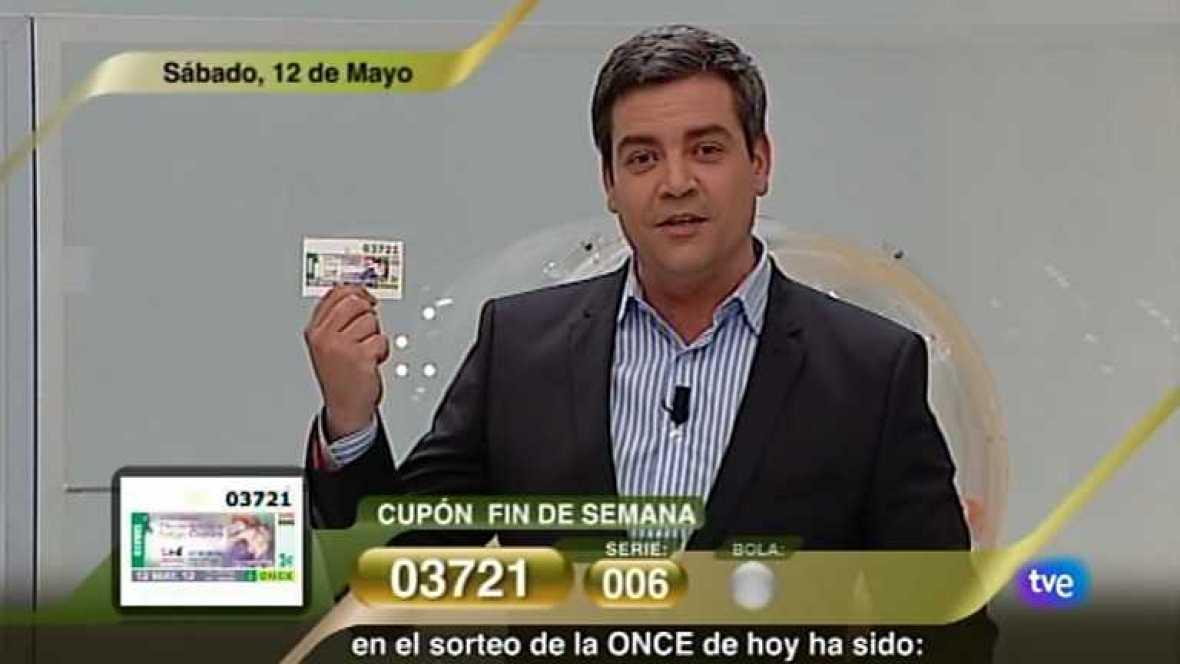 Sorteo ONCE - 12/05/12 - Ver ahora