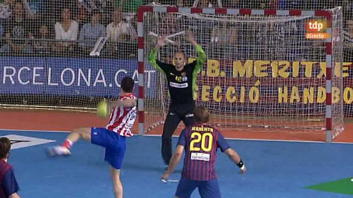 Balonmano - Liga Asobal - FC Barcelona Intersport- BM Atlético de Madrid - - 12/05/12 - Ver ahora