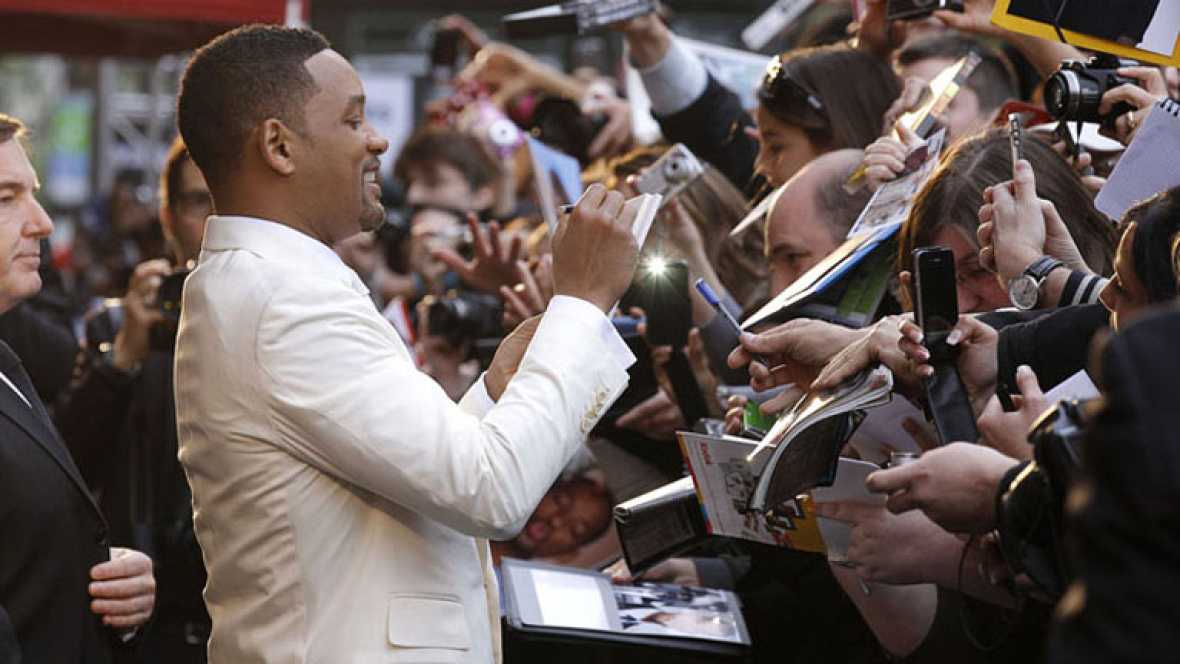"Will Smith presenta en España ""Men in black III"""