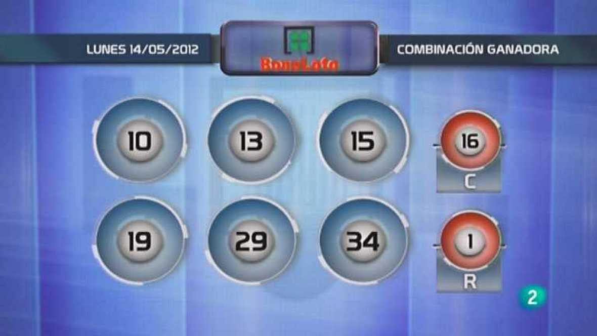 Lotería diaria - 14/05/12 - Ver ahora