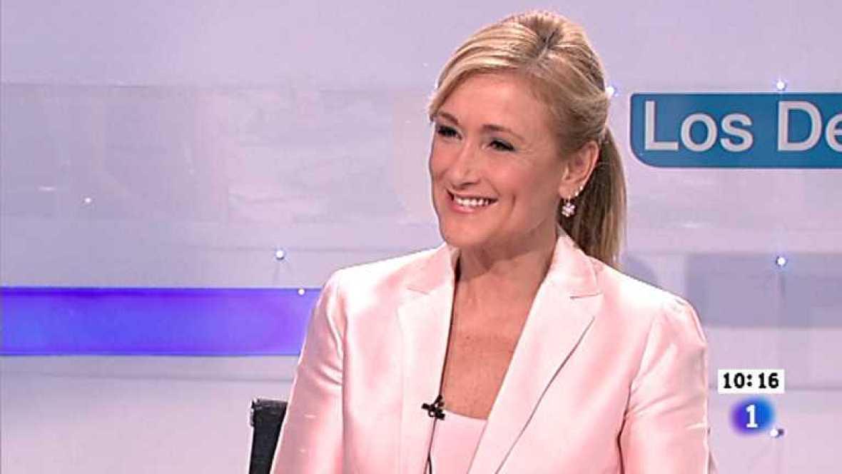 Los desayunos de TVE - Cristina Cifuentes, delegada del gobierno en Madrid - Ver ahora