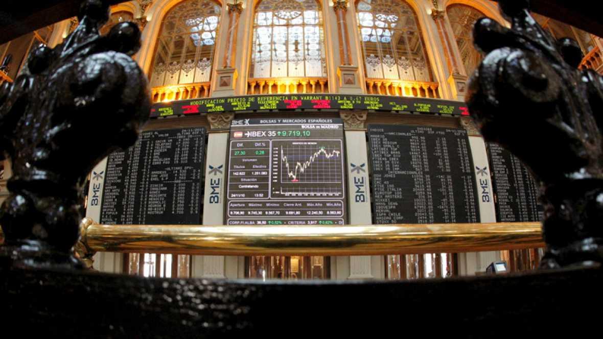 La volatilidad domina en la Bolsa, mientras la prima de riesgo repunta por encima de 480 puntos
