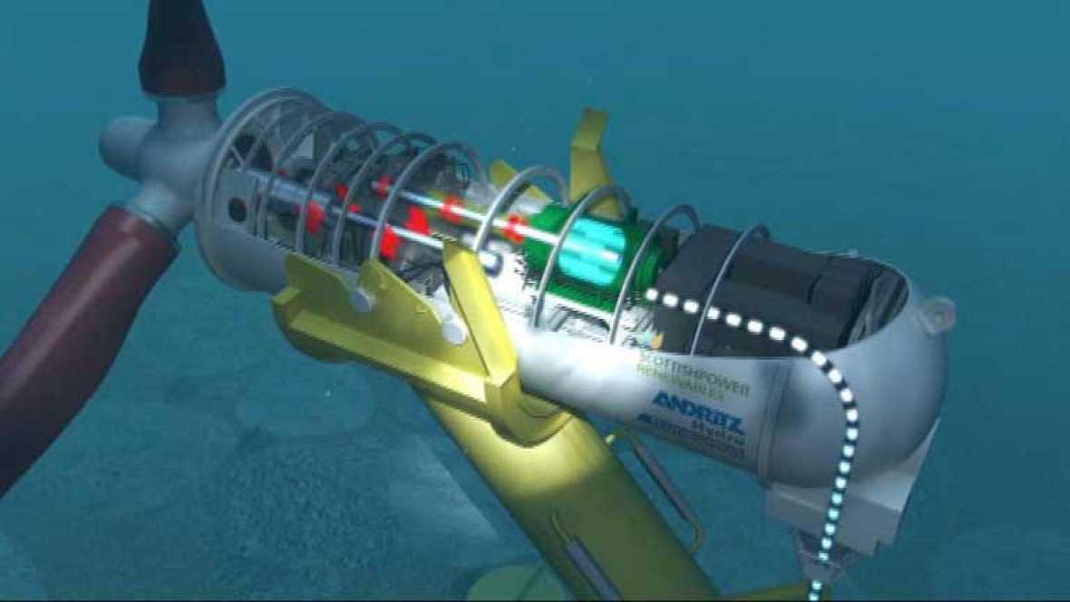 En Escocia, una empresa española estudia la generación de electricidad aprovechando las mareas