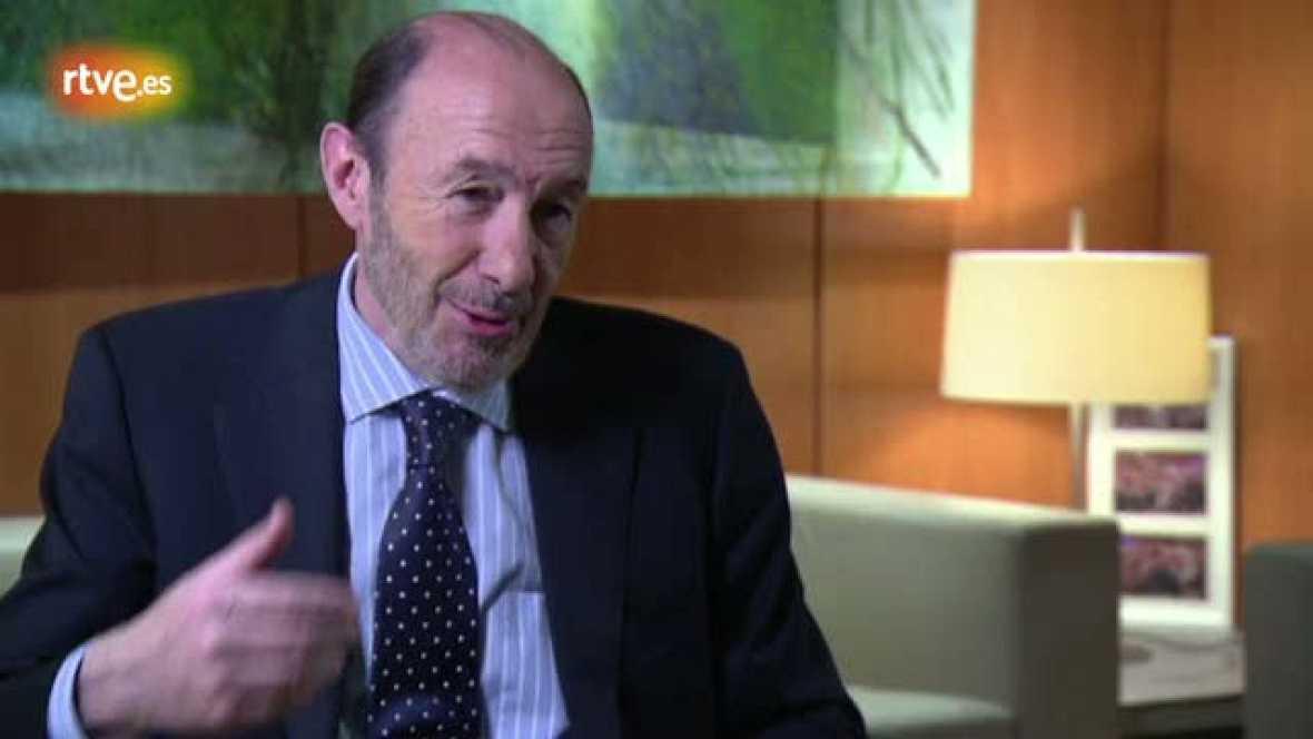 Alfredo Pérez Rubalcaba sobre encuentros con ETA durante la tregua de 2006