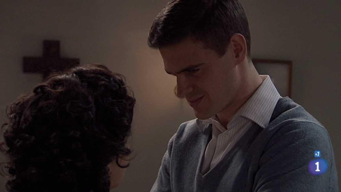 Amar - Alberto intenta abusar de Daniela