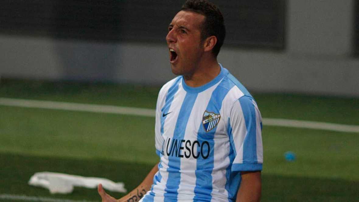 El jugador del Málaga Santi Cazorla, uno de los artífices de la clasificación del Málaga para la Champions, espera redondear la temporada con su presencia en la Eurocopa de Polonia y Ucrania.