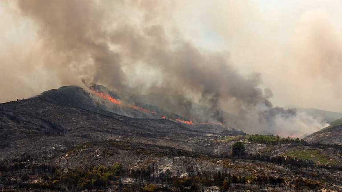 El incendio de Rasquera ya está en fase de control