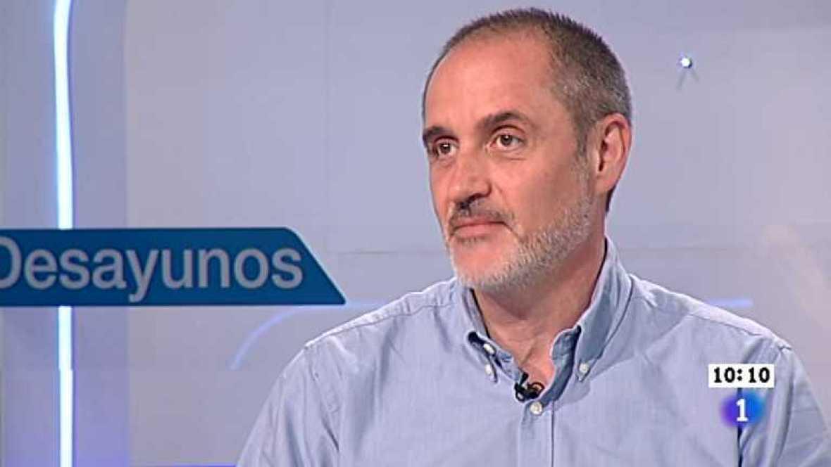 Los desayunos de TVE - Antoni Bruel, coordinador general de Cruz Roja Española y José Carlos Díez, analista financiero - ver ahora