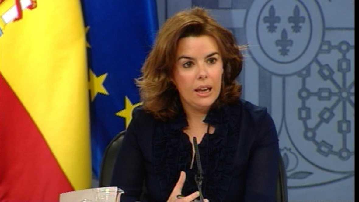 Sáenz de Santamaría valora de forma muy positiva el Consejo de Política Fiscal y Financiera