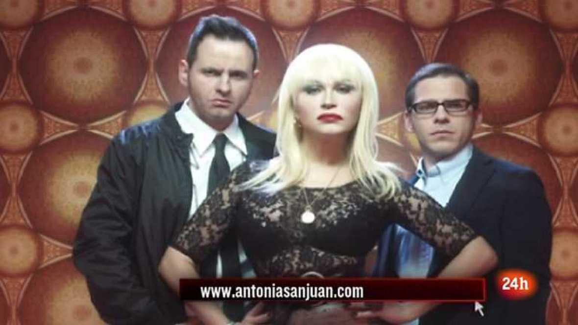 Cámara abierta 2.0 - El Cañonazo Transmedia, el blog Meridianos y la actriz Antonia San Juan se pasa por 1minuto.com - 19/05/12 - Ver ahora