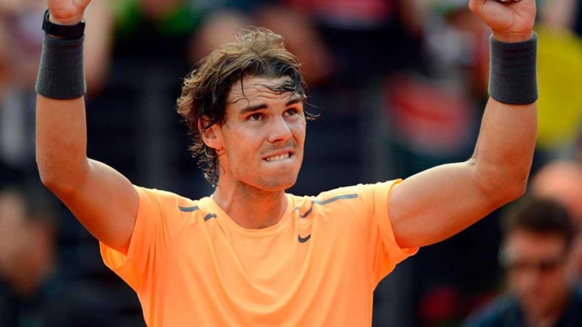 Rafa Nadal y Novak Djokovic volverán a disputar la final del Masters 1000 de Roma. El español venció a su compatriota David Ferrer en dos sets (7-6 y 6-0), mientras que el serbio hizo lo mismo contra el suizo Roger Federer por 6-2 y 7-6.