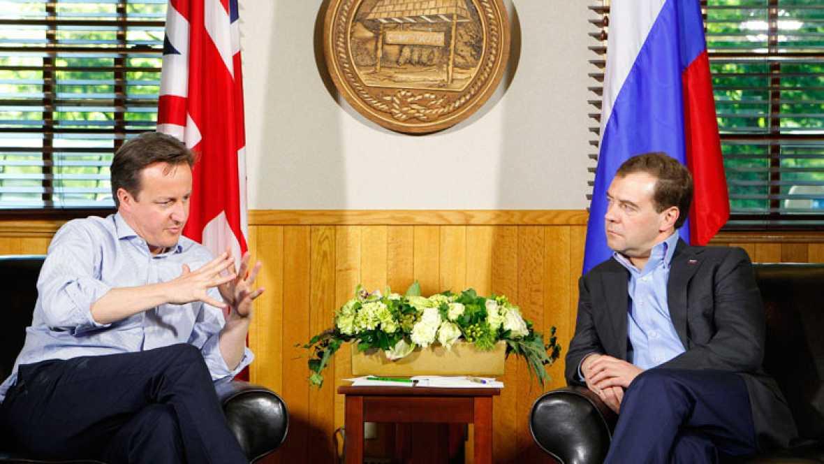 El G8 apuesta por la unidad por el crecimiento económico y el empleo