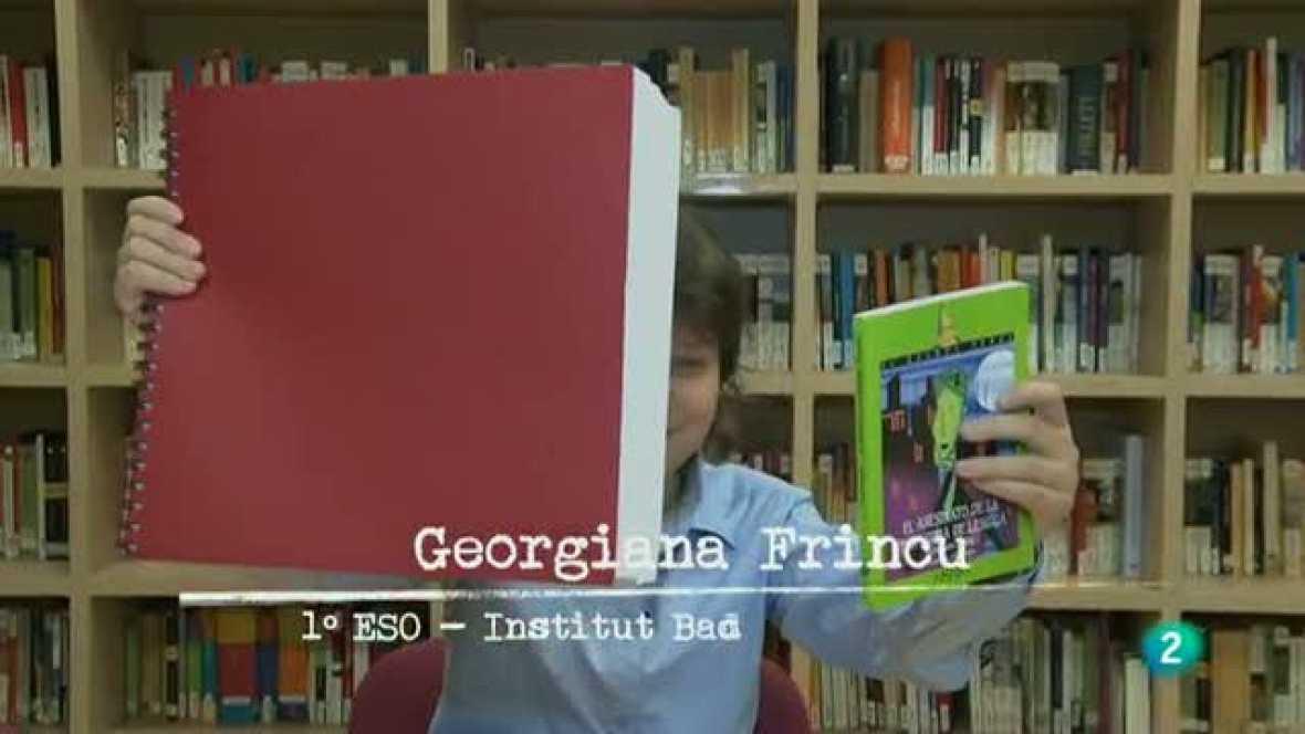 """Página 2 - Miniclub de lectura: """"El asesinato de la profesora de lengua"""""""