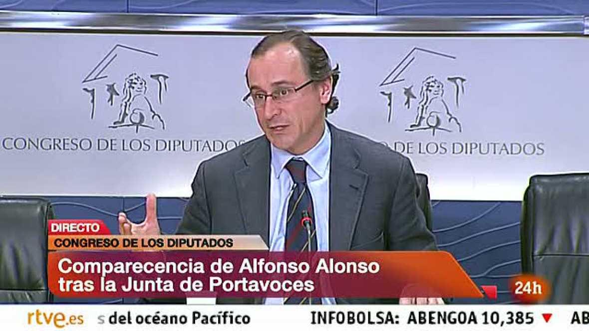 Renovación presidente RTVE - Alfonso Alonso (PP)