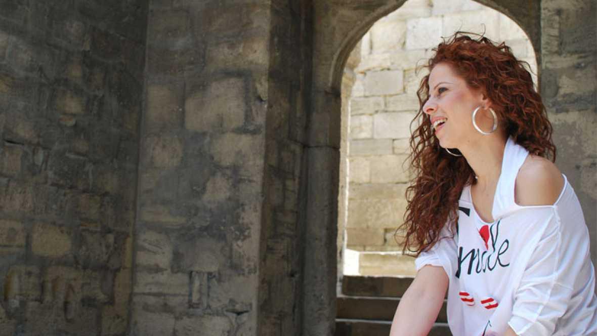 Corazón - Pastora Soler pasea por Bakú