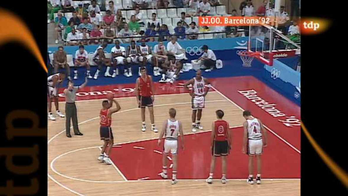 Londres en juego - Barcelona 1992. Baloncesto: España - EEUU - ver ahora