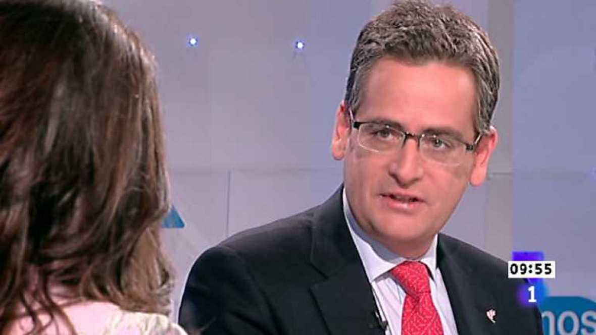 Los desayunos de TVE - Antonio Basagoiti, presidente del PP en el País Vasco - Ver ahora