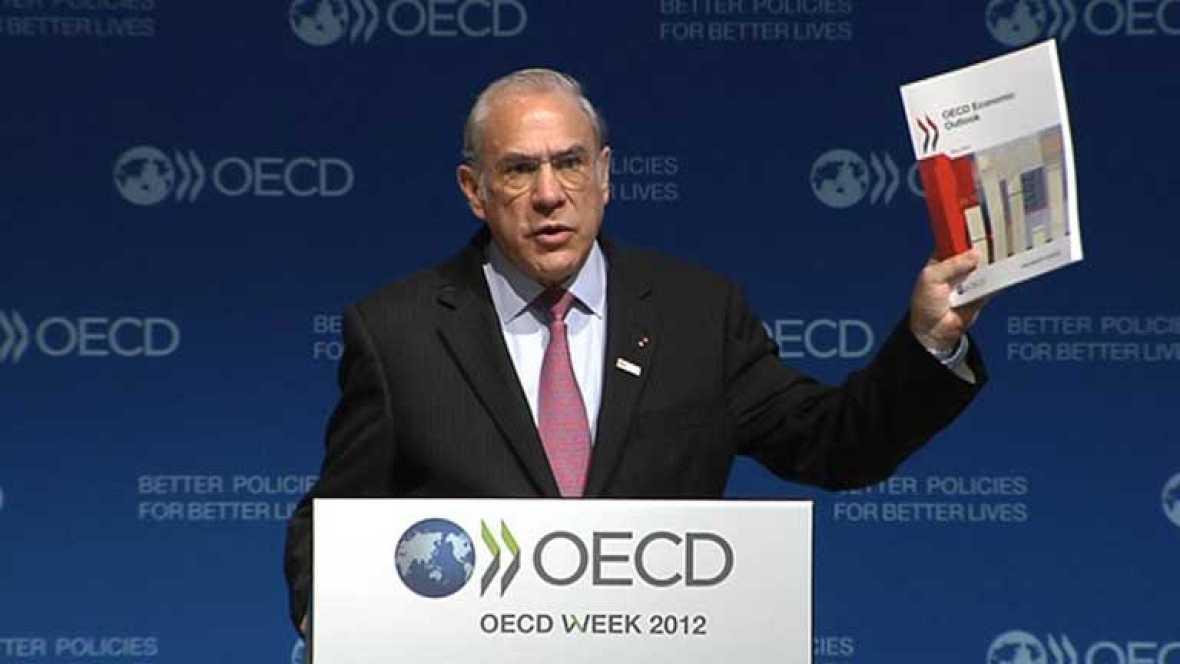 La OCDE prevé decrecimiento, más paro y más déficit del esperado por el gobierno