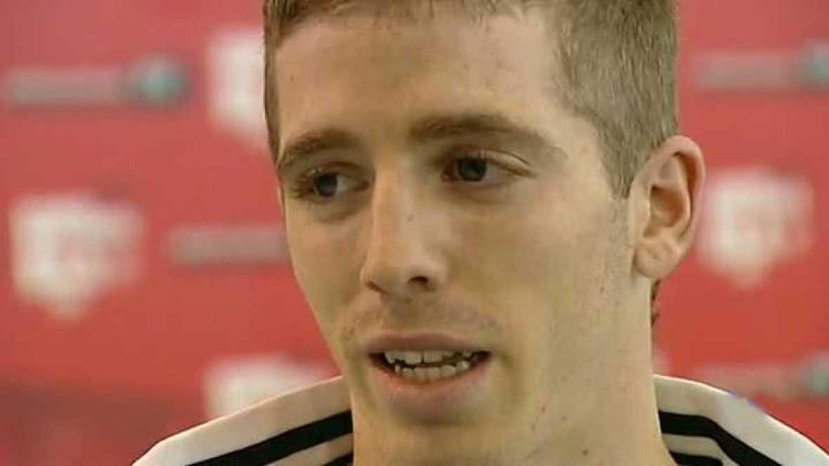 El delantero navarro del Athletic fue uno de los más desconsolados tras perder la final de la Europa League, pero asegura a TVE que ya ha olvidado aquella decepción y solo piensa en ganar la Copa.