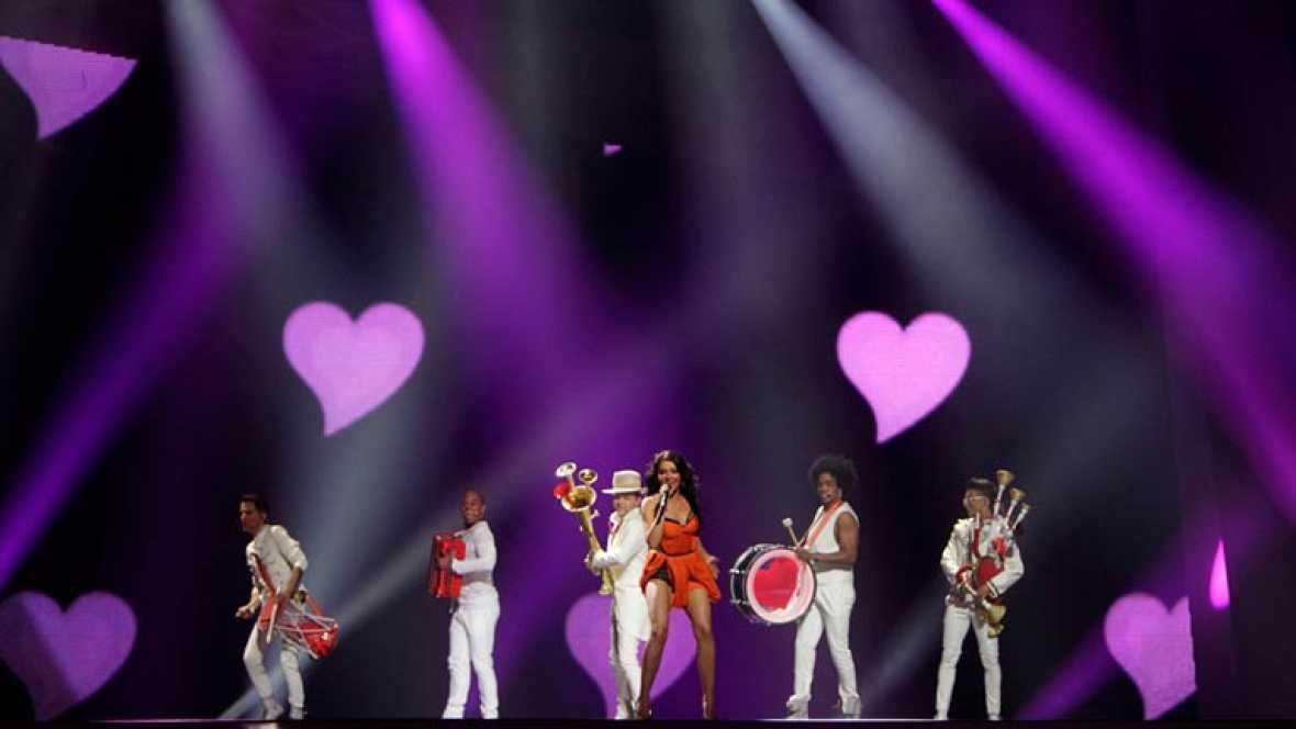 Rumanía Eurovisión 2012 - Mandinga - 1ª semifinal