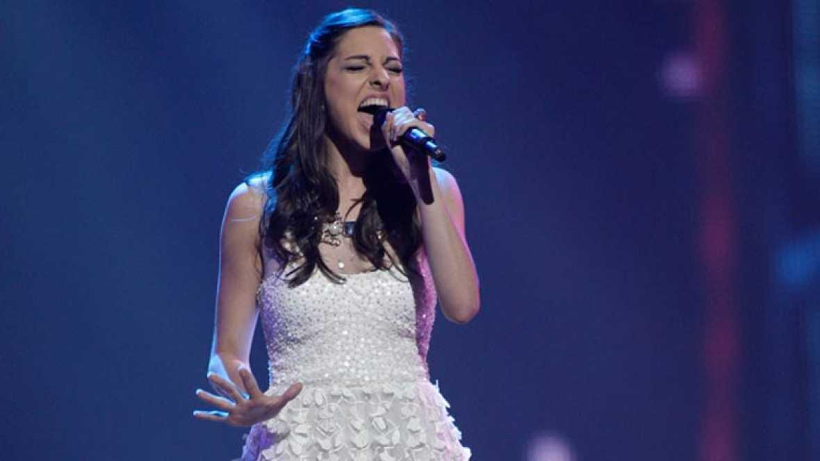 Bélgica Eurovisión 2012 - Iris - 1ª semifinal