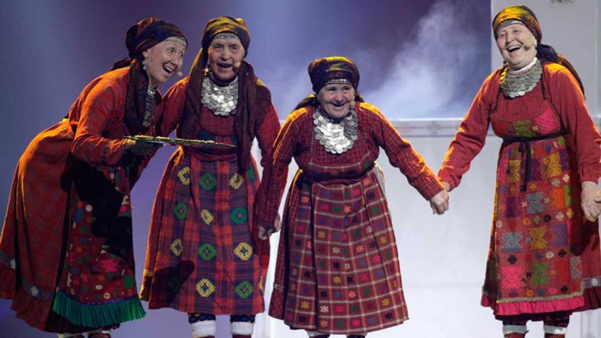Rusia Eurovisión 2012 - Buranovskiye Babushki - 1ª semifinal