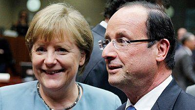 Hollande y Merkel dejan a la UE dividida en torno a los eurobonos