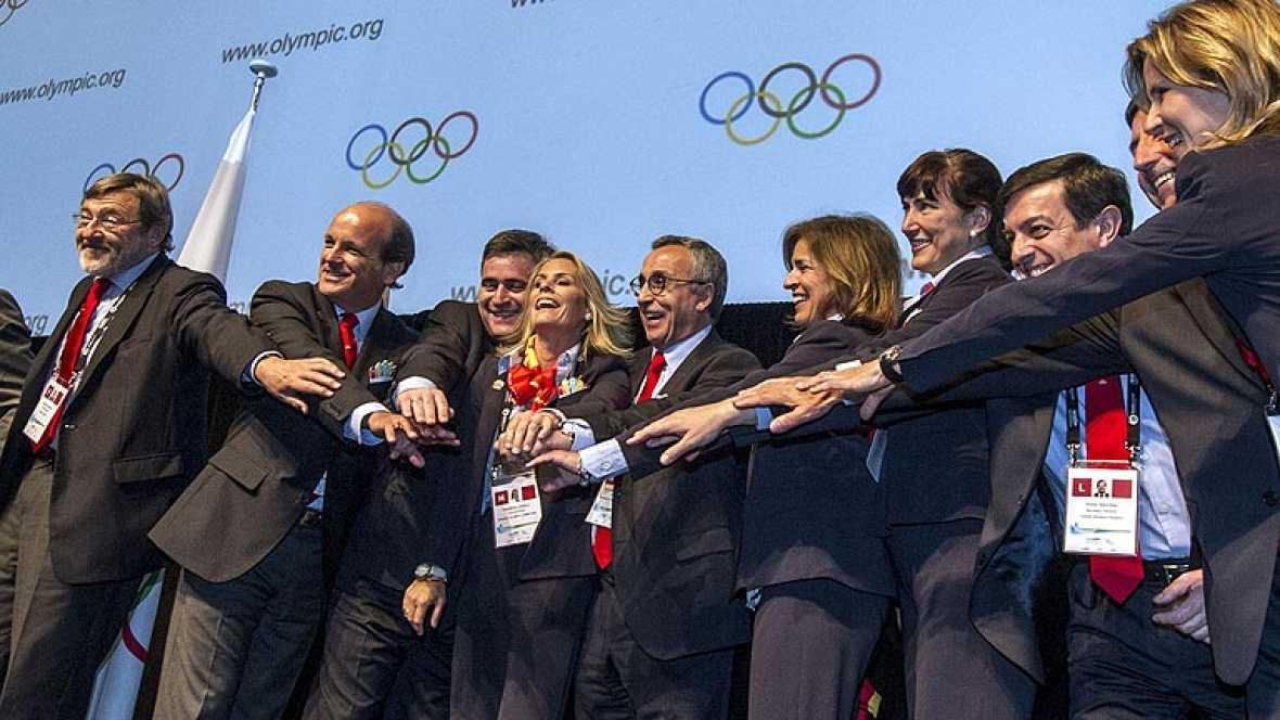 Madrid ya es ciudad candidata a albergar los Juegos Olímpicos de 2020