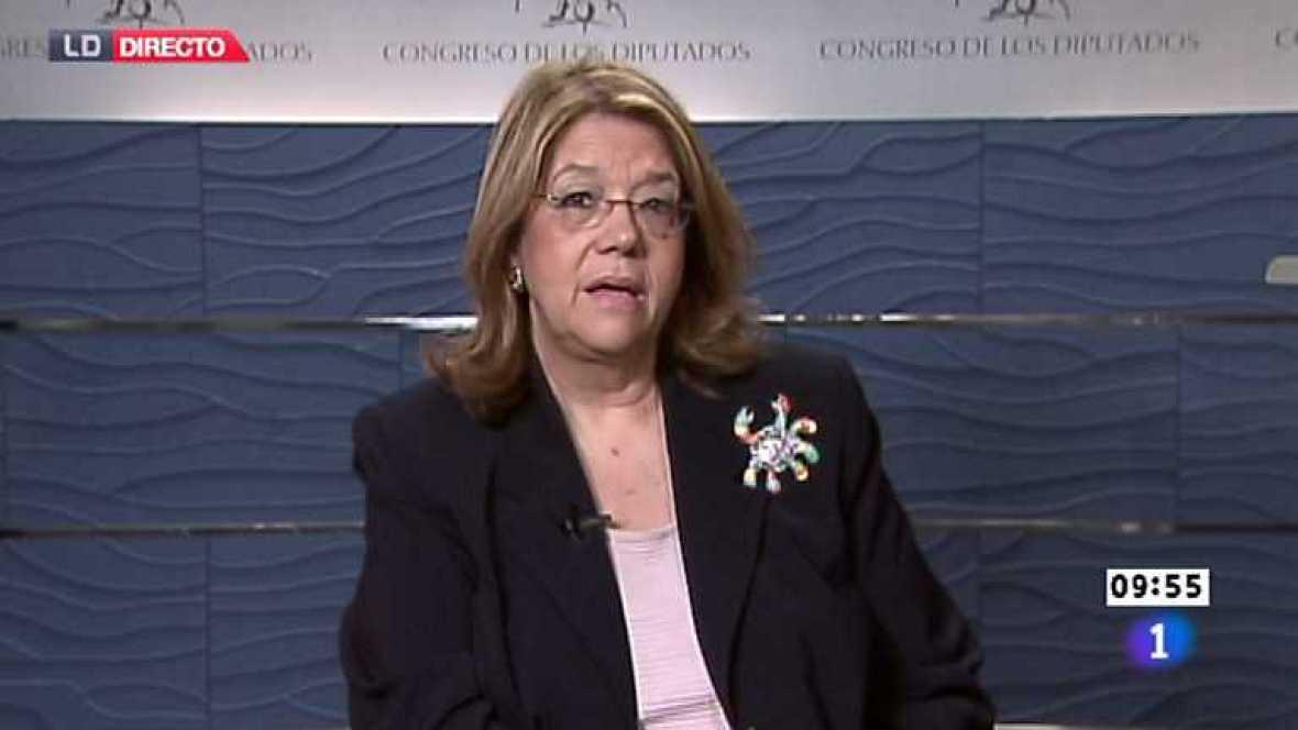 Los desayunos de TVE - Elvira Rodríguez, presidenta de la comisión de economía y competitividad del Congreso - Ver ahora