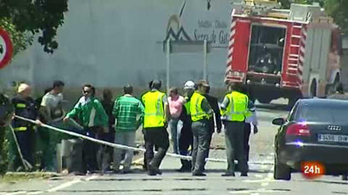Dos heridos y tres desaparecidos en un incendio en una almazara de Moraleja (Cáceres)