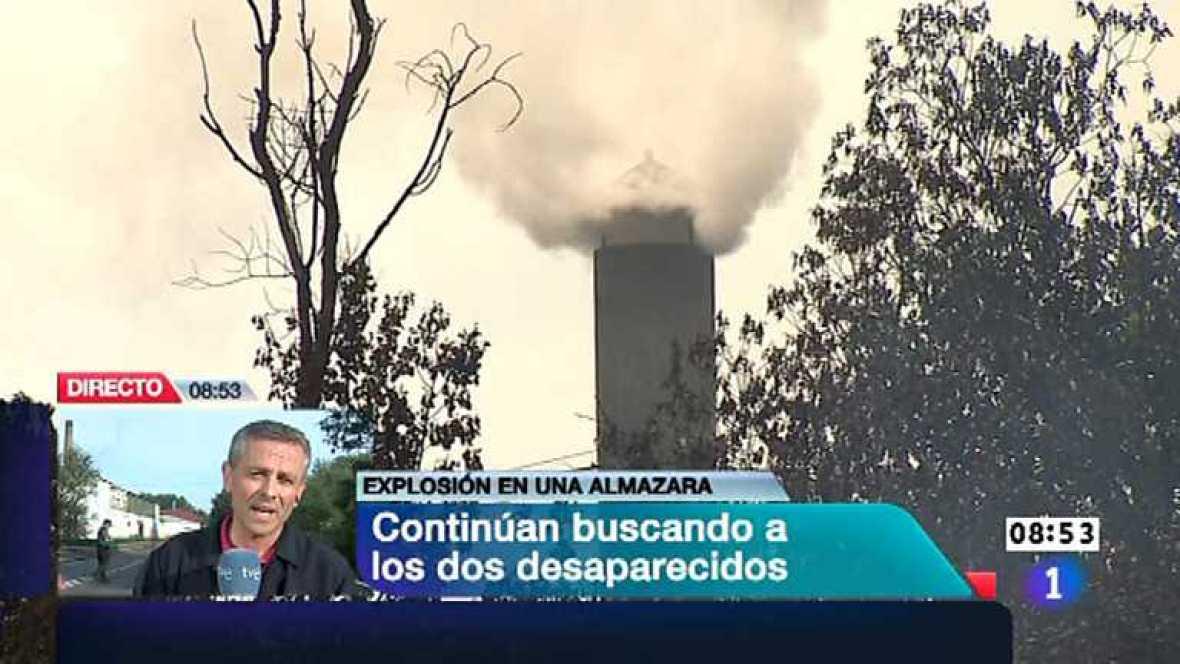 Telediario - 8.30 horas - 25/05/12  - Ver ahora