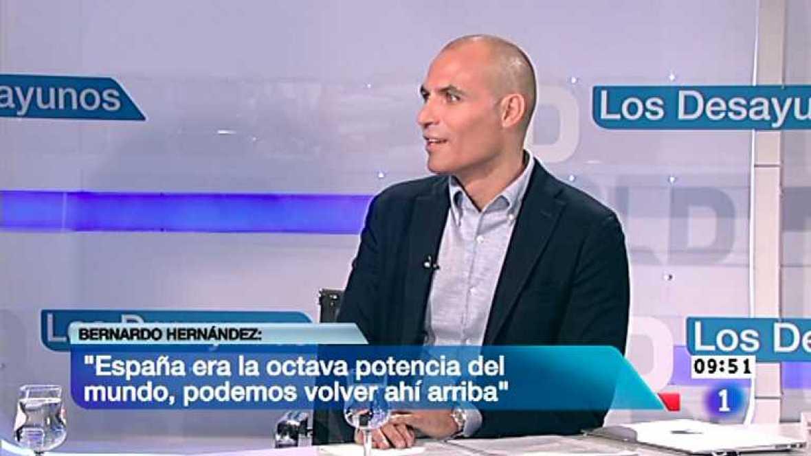 Los desayunos de TVE - Bernardo Hernández, Dir.mundial de productos emergentes de Google - Ver ahora