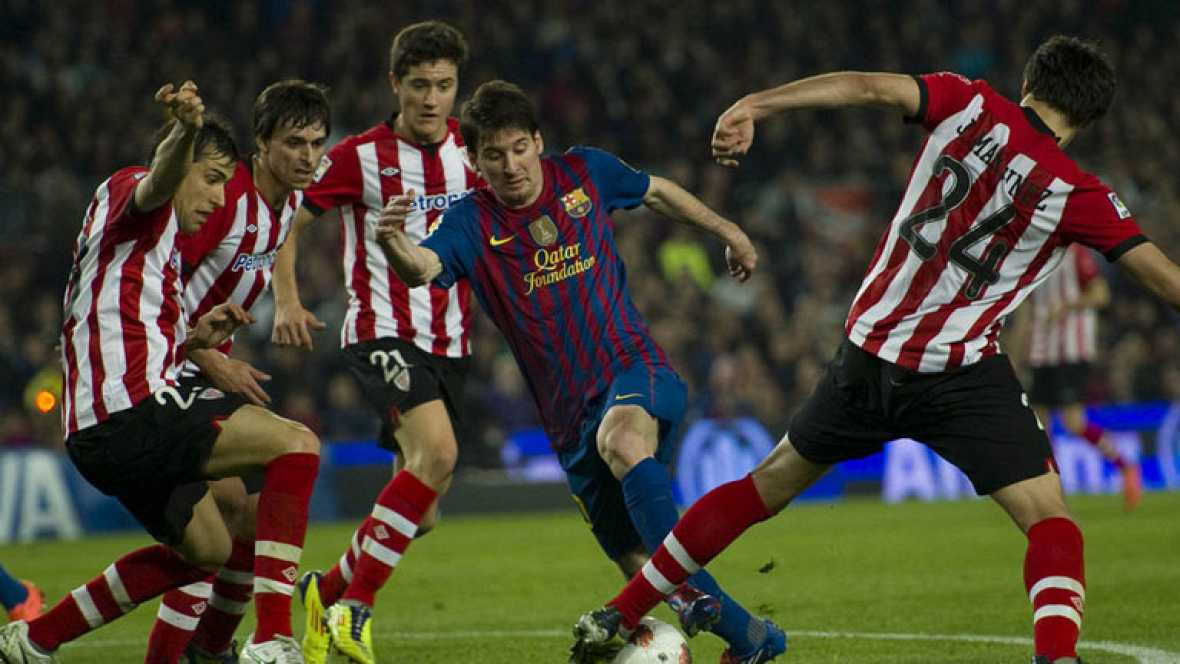 Athletic-Barça: la final de los que tocan el balón