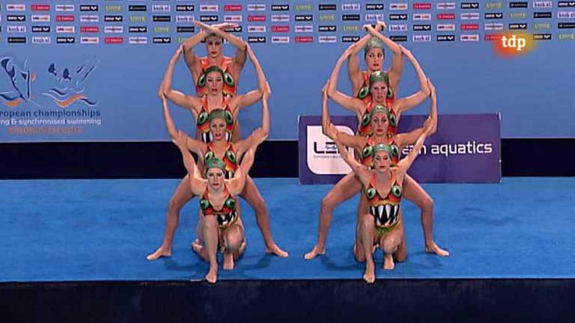 Natación sincronizada - Campeonato de Europa. Final libre equipos - 26/05/12 - ver ahora