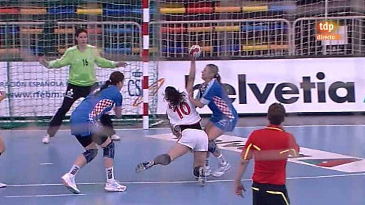 Balonmano - Preolímpico femenino: España - Croacia - 27/05/12 - Ver ahora