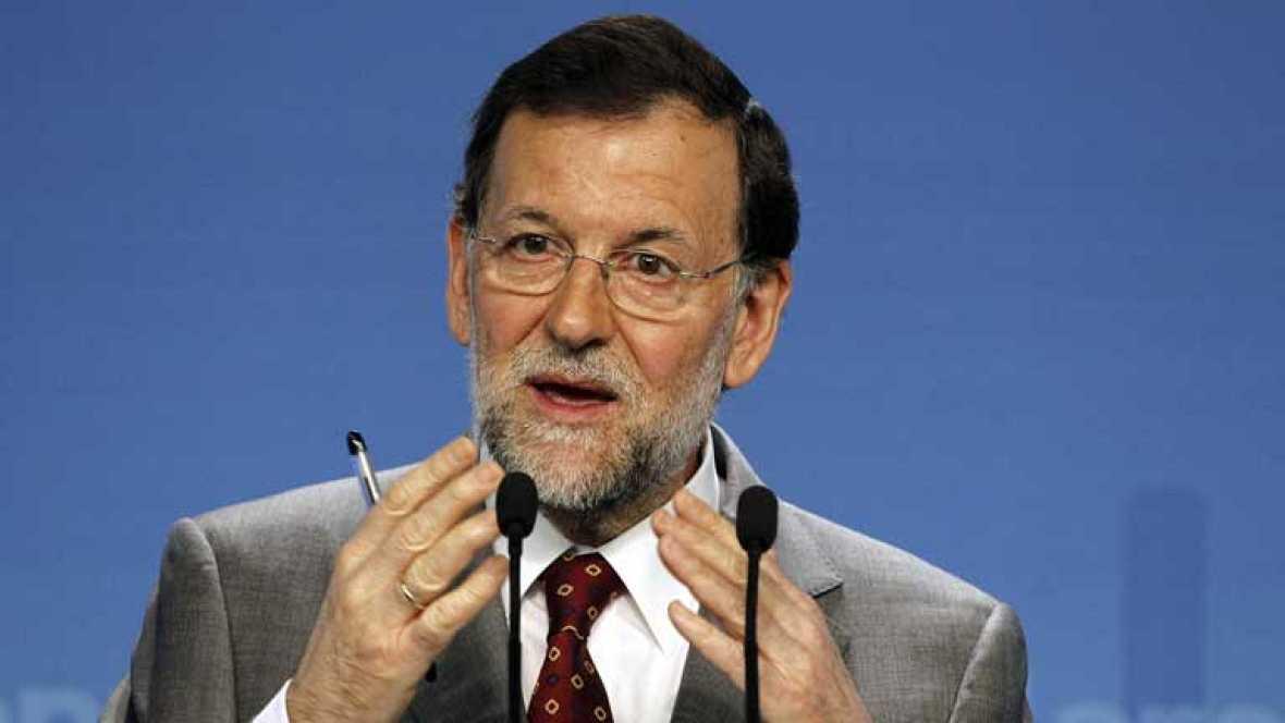 Mariano Rajoy afirma que no va haber ningún rescate europeo de bancos españoles