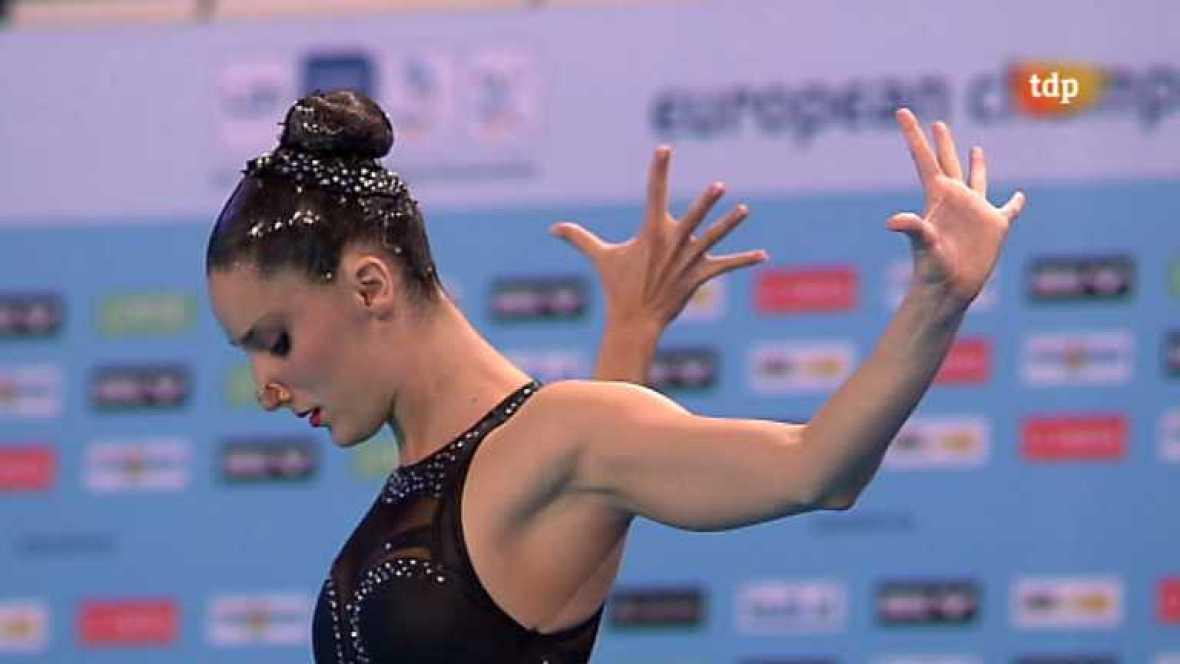 Natación sincronizada - Campeonato de Europa. Final solo libre - Ver ahora