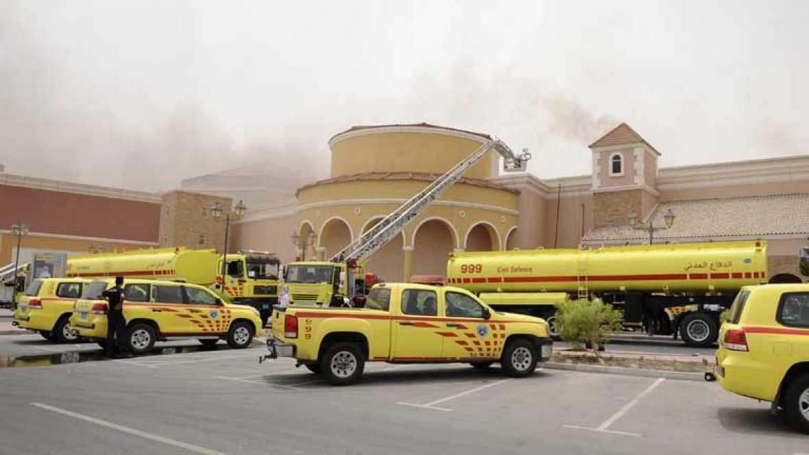 Cuatro niños españoles, han fallecido en el incendio de un centro comercial en Doha