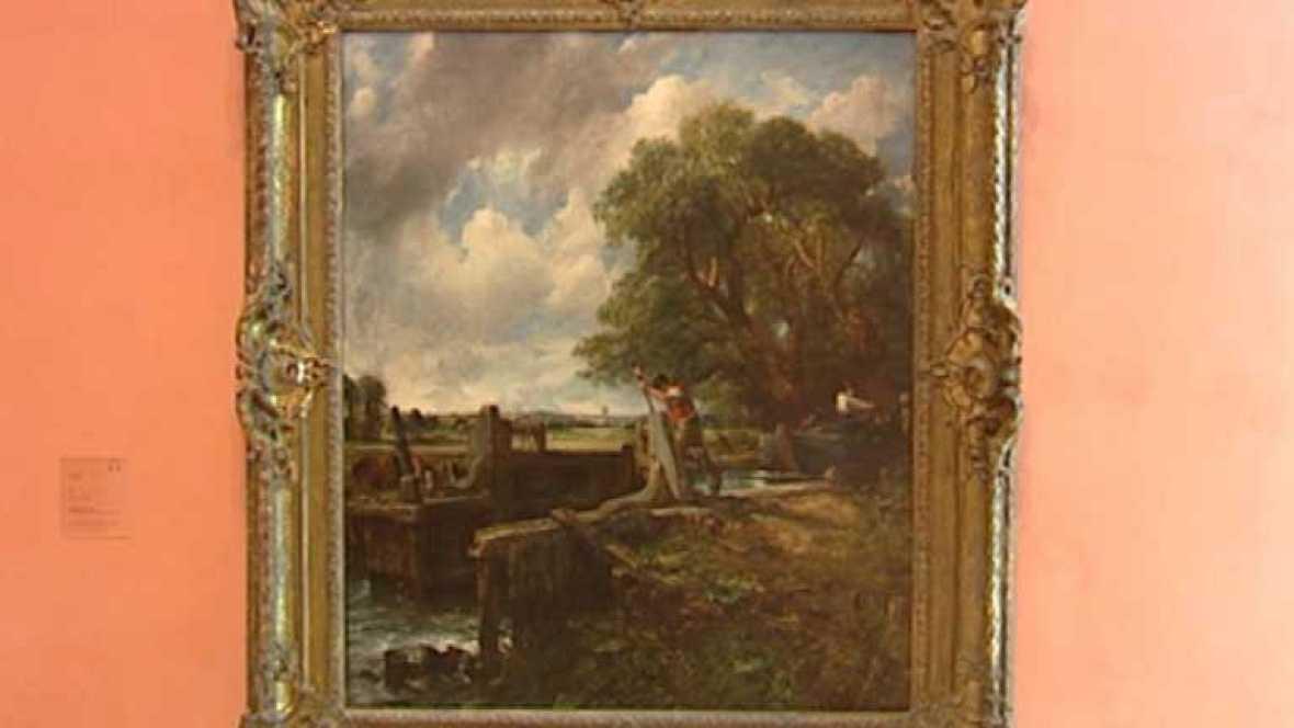 """El Thyssen pone a subasta """"La esclusa"""" de John Constable"""