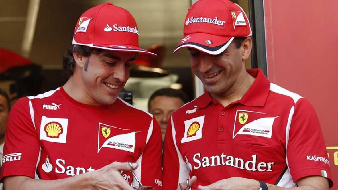 Alonso espera confirmar la mejoría de Ferrari