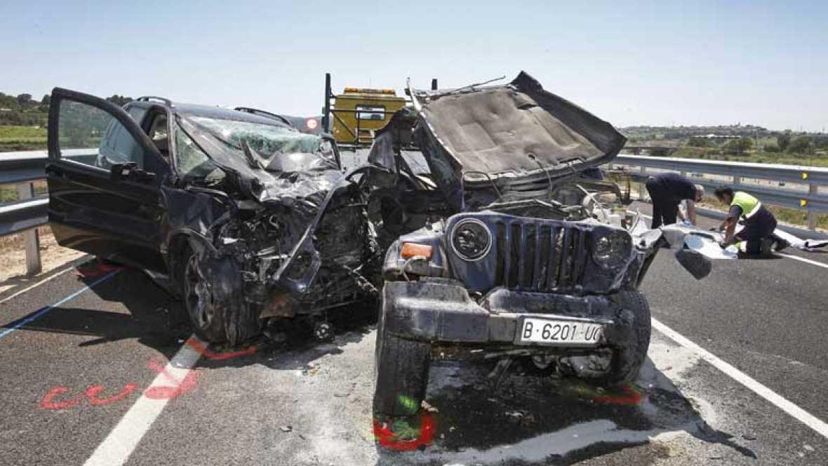 Mueren cuatro mujeres jóvenes en accidente de tráfico en Vilafranca del Penedes