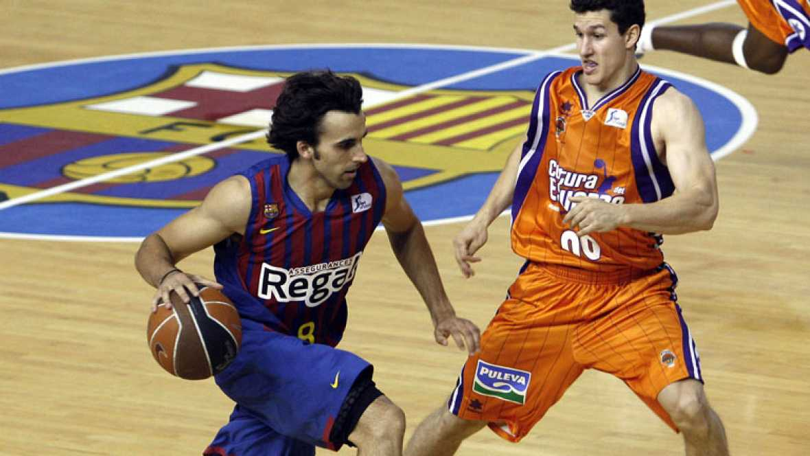 Valencia Basket 73-77 Barça Regal