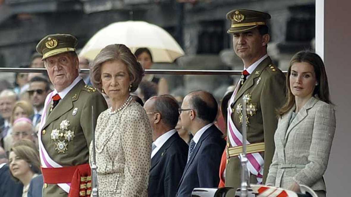 El rey ha presidido el Día de las Fuerzas Armadas en Valladolid