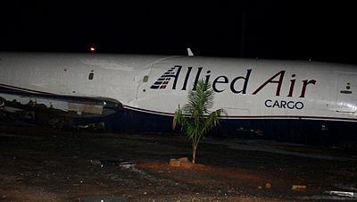 Al menos 10 muertos en un accidente aéreo en el aeropuerto de Accra, la capital de Ghana