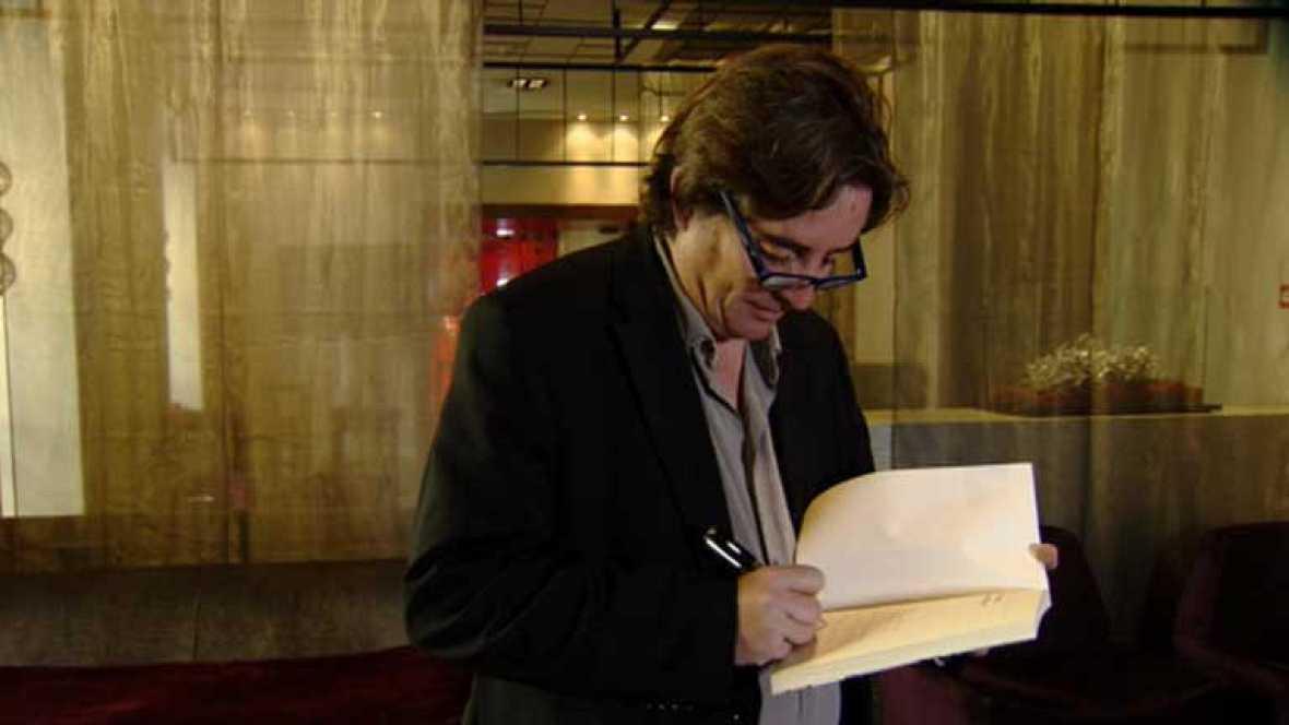 Luis García Montero, un poeta que escribe prosa, en la Feria del Libro de Madrid