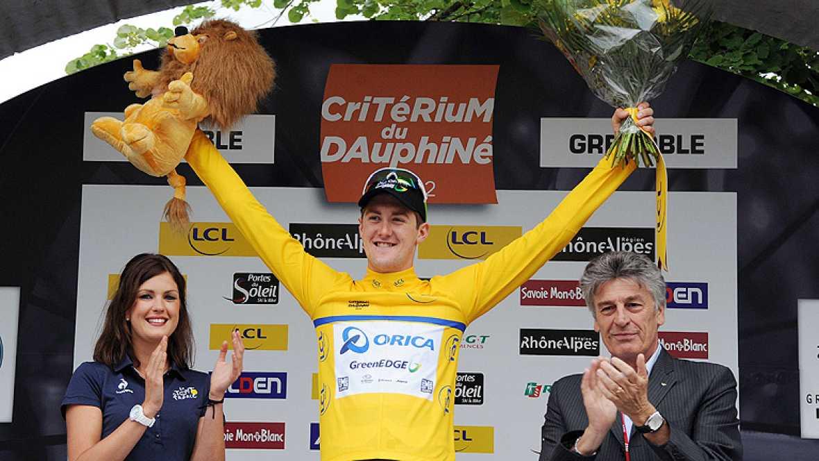 Ciclismo - Dauphiné Liberé. Prólogo - 03/06/12 - Ver ahora