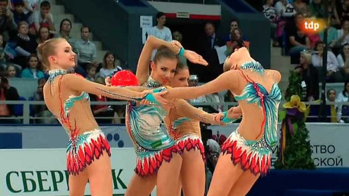 Gimnasia rítmica - Campeonato de Europa - 03/06/12 - Ver ahora