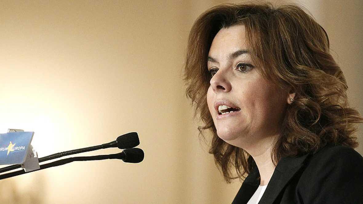 Saénz de Santamaría asegura que el mundo empieza a confiar en España y sus reformas